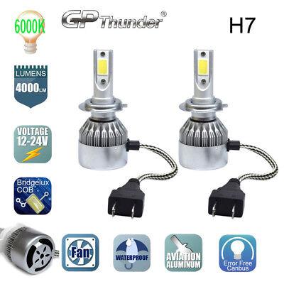 2019 NEW H7 LED CAR HEADLIGHT KIT BULB 6000K REPLACEMENT HID (Car Headlamp Bulbs)