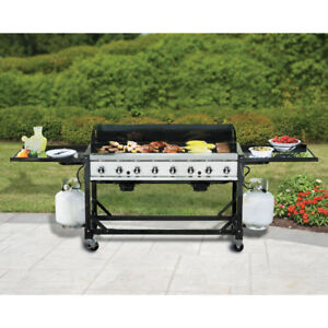 COMMERCIAL/EVENT BBQ 116,000BTU 52X24 COOKSURFACE W/FITTED COVER