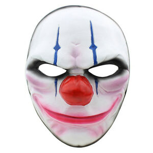 New Halloween, Payday 2 Theme Game Horror Cosplay Party Mask