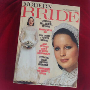 1975 MODERN BRIDE MAGAZINE - perfect anniversary gift!