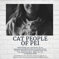 Looking for People and their Cats for portrait photo project