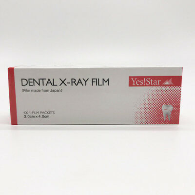 Dentist Lab Supplies X-ray Film Size 3cm X 4cm For Reader Scanner Machine 1box