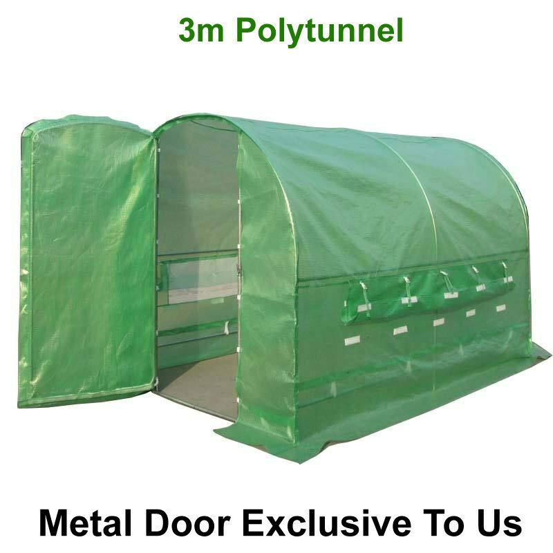 Polytunnel 3m X 2m Galvanised Pollytunnel Polly Tunnel