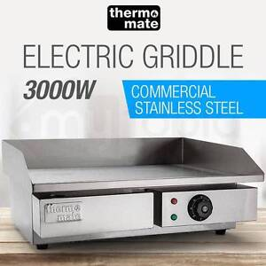 Thermomate Electric Griddle Grill Hot Plate Stainless Steel New Brisbane City Brisbane North West Preview