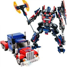 Lego Alternative Optimus Prime Transformers Model