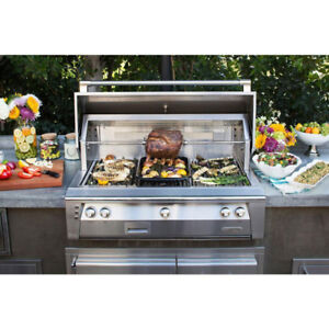 42 INCH BUILT-IN NATURAL GAS GRILL WITH SEAR ZONE by ALFRESCO