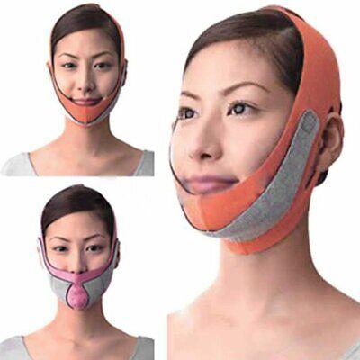 Man Chin (Women Men V Line Face Band Anti Wrinkle Mask Strap Chin Cheek Wrap Lift Up)