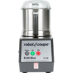 Robot Coupe R301 Dice Ultra Combination Continuous Feed