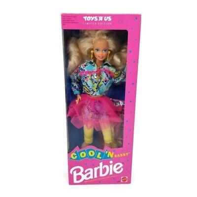 Vintage COOL'N SASSY Barbie Toys R Us Limited Edition Mattel #1490 NRFB