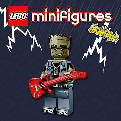 LEGO Minifigures #71010 - Halloween / Monsters - Monster Rocker - 100% NEW
