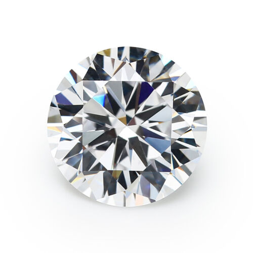 Size 0.7~20MM White AAAAA Round Shape CZ Loose Cubic Zirconia Stone