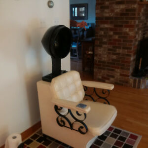 Hair Dryer Salon Style Stand-alone or in Retro Chair