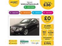 Mercedes-Benz C220 FROM £36 PER WEEK
