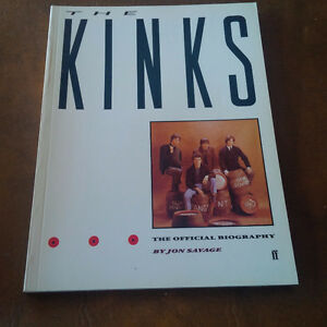The Kinks, The Official Biography, Jon Savage 1984 Kitchener / Waterloo Kitchener Area image 1