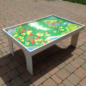 Play Table with Thomas the Tank Engine Train Platform