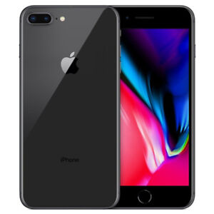 IPHONE 8 PLUS 64 GB SPACE GRAY UNLOCKED MINT CONDITION.