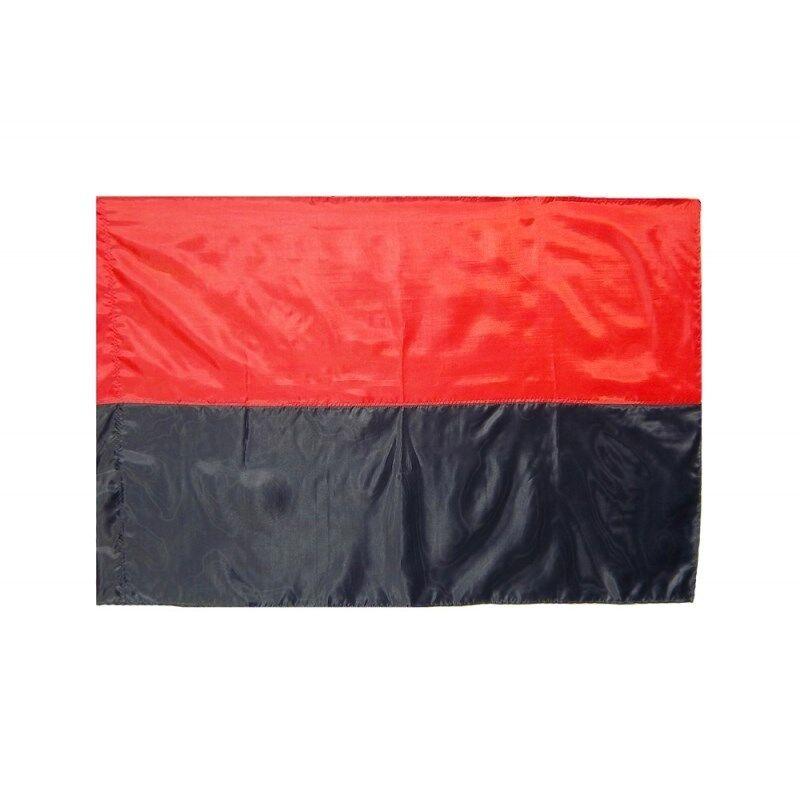 Ukraine Flag Ukrainian Insurgent Army UPA Red-Black Color Polyester