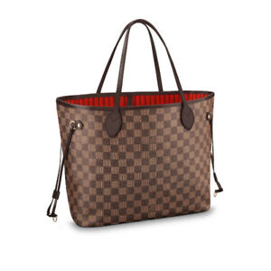Louis Vuitton Neverfull MM Damier, comme neuf, facture.