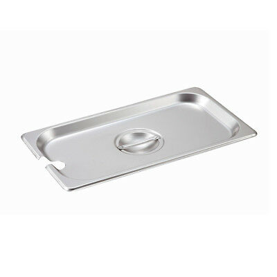 Lid For Steam-table Pan Third Size Slotted