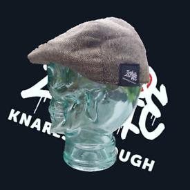 Zombie Knaresborough herringbone flat cap