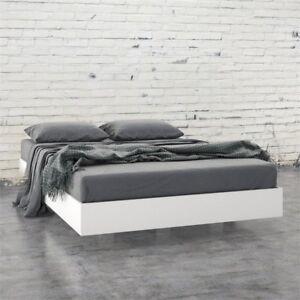 b04e04dedb50 Nexera 345403 Acapella Full Size Platform Bed White