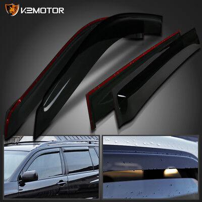 For 2001-2007 Toyota Highlander Window Visors Rain Guard Vent Shade Deflector x4