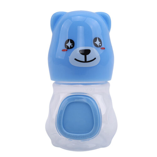 Baby Cute Feeding Bottle Smart Temperature Bear Shaped Suppl