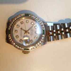 Rolex Oyster Perpetual Ladies Datejust Model 6917 Womans Watch