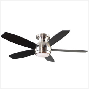 GE CEILING FAN WITH REMOTE 5-BLADE, 52-IN (BRAND NEW)