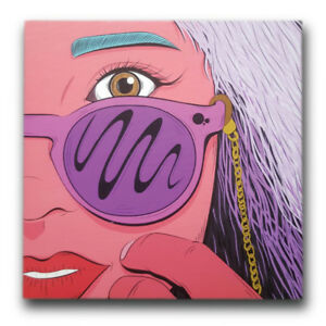 12x12 EYECANDY | Canvas print by The Brain Shart