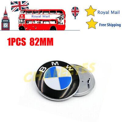 Replacement 82MM BMW E30 36 46 70 90 92 93 Boot Bonnet Trunk Hood Badge Emblem