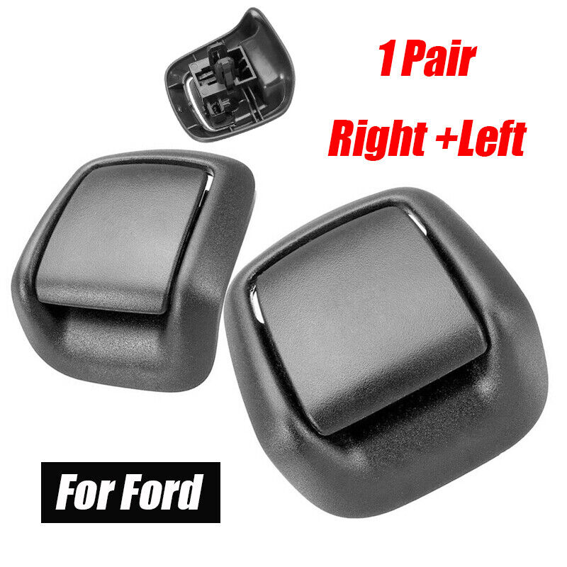 Car Parts - Right + Left Hand Front Seat Tilt Handles Black For FORD Fiesta MK6 2002-2008