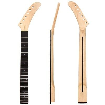 Banana Electric Guitar Neck Dot Inlay For St Parts 22 Fret Maple Wood Rosewood