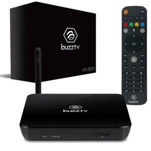 BUZZ TV XPL 3000 LATEST MODEL $150 2 MONTHS FREE , IPTV INTERNET