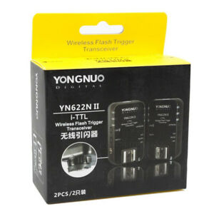 YN-622N ii TTL Flash Triggers for Nikon