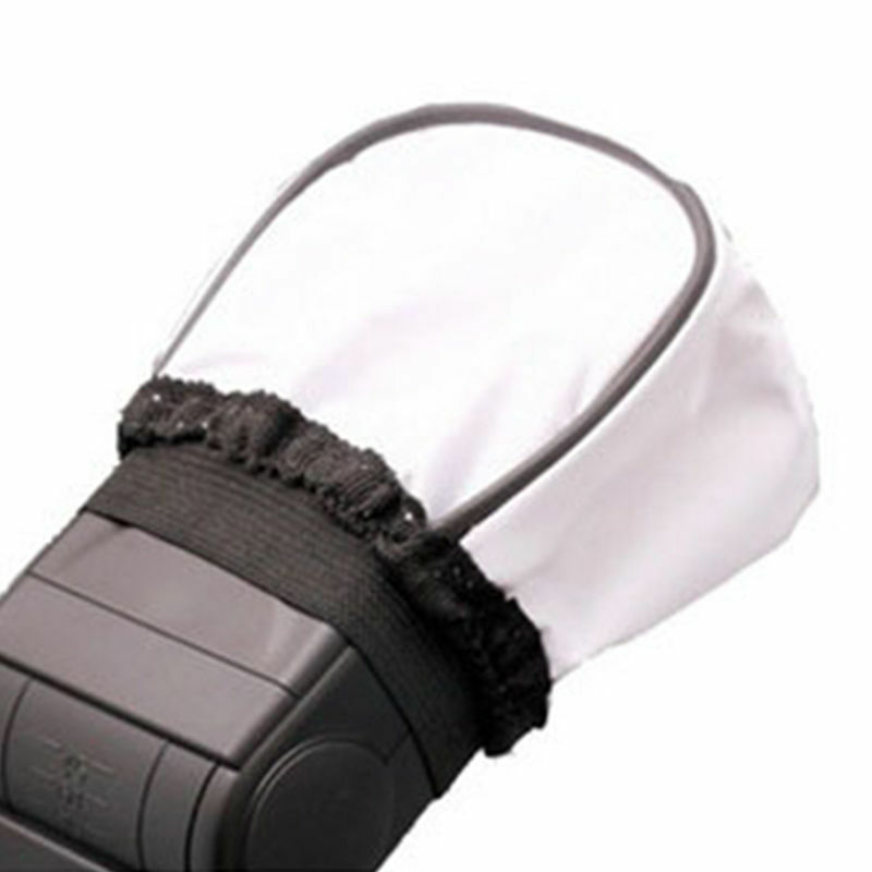 2 x Universal Soft Flash Diffuser Cap Softbox for Canon Nikon Yongnuo Speedlight