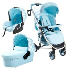 My babiie blue travel system