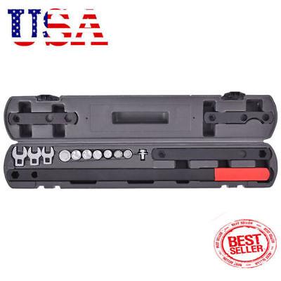 16Pcs Wrench Serpentine Belt Tension Tool Kit Automotive Repair Service Kit