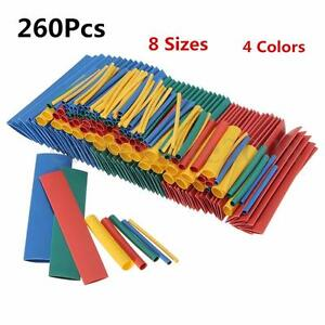 260pcs-8Size-Assortment-2-1-Heat-Shrink-Tubing-Tube-Sleeving-Wrap-Wire-Cable-Kit