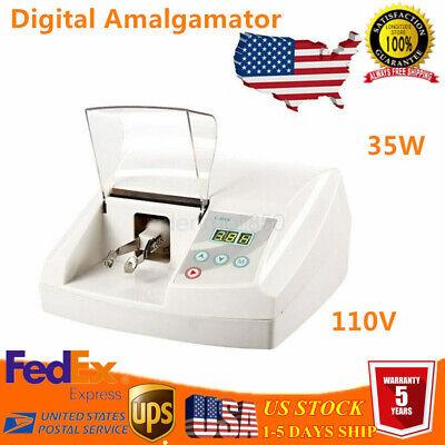 Electric Dental Amalgamator 35w High Speed Amalgam Capsule Mixer Lab Equipment