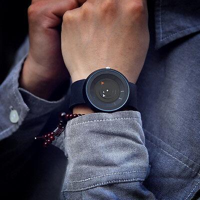 Retro Fashion  Mens Stainless Steel Watches Luxury Quartz Analog Wrist Watch