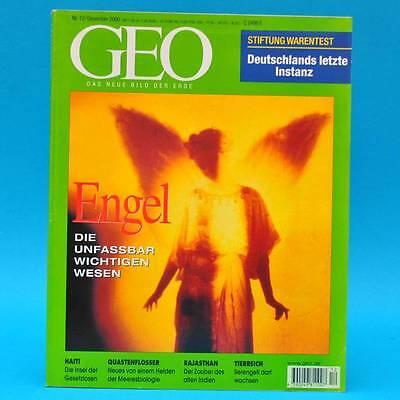GEO Magazin 12/2000 Serengeti Rajasthan Stifzung Warentest Engel Quastenflosser
