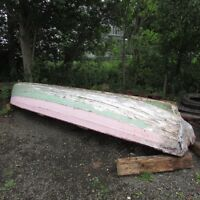 Trade one of original Keji cargo boats for project old trailer