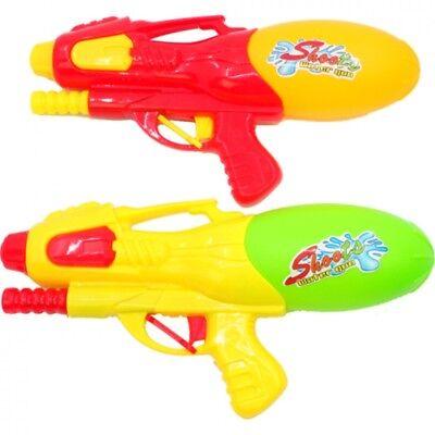 2x Wasserpistole Wasser-Pistole mit Pumpe Spritzpistole Kanone Water Gun Big Gun ()