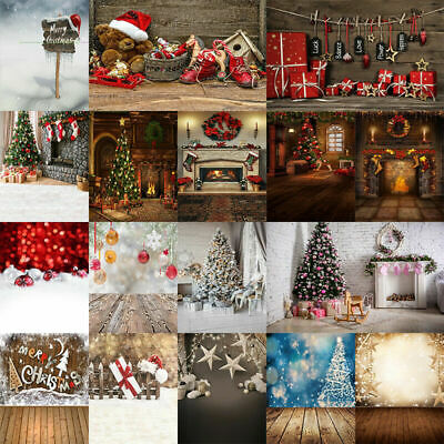 Christmas Xmas Photography Backdrop Background Studio Props for Party Decoration - Christmas Backdrops