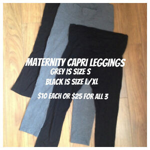 Maternity Capri Leggings