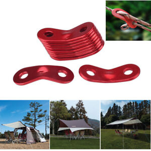 10pcs Camping Accessories Tent Rope Fastener Guyline Tensioner R