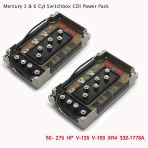 2CDI Switch Box Mercury Mariner Sierra 18-5775 332-7778A6 332-7778A12 332-7778A9