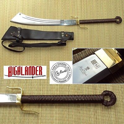 The Officially Licenced Marto of Spain Highlander Series, Sable Dadao and Sheath