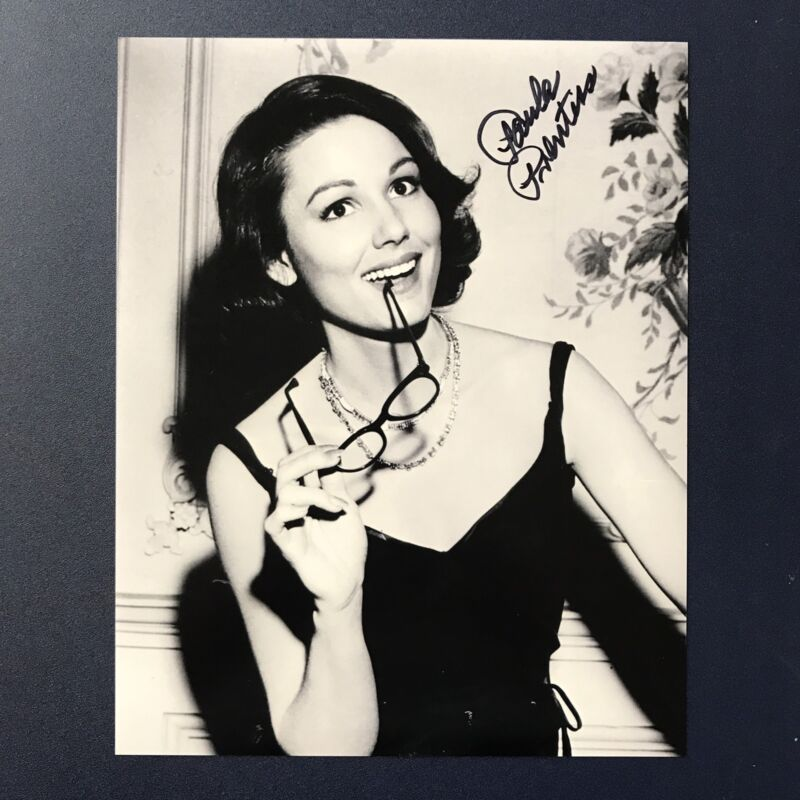 PAULA PRENTISS SIGNED 8x10 PHOTO 1960s ACTRESS WHERE THE BOYS ARE AUTOGRAPH COA